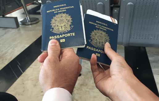 Pode tirar o passaporte com o nome sujo
