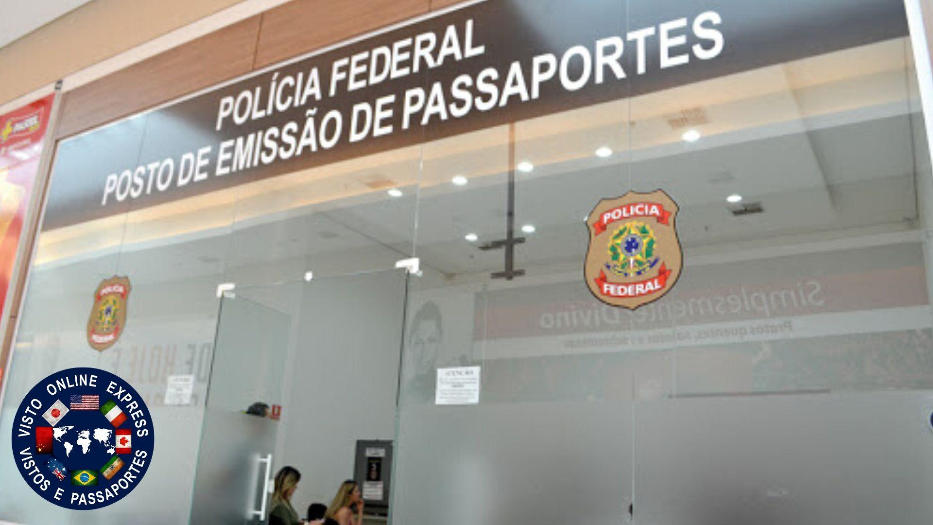 Atendimento na Polícia Federal Carnaval